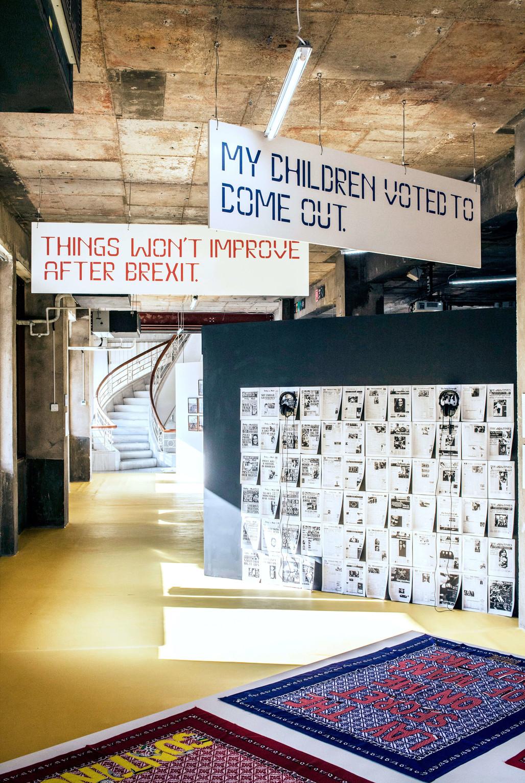 """Department of Non-Binaries"", Fikra Graphic Design Biennial 0 - © Photo: Lars Harmen, Slanted, Swiss Design Awards Blog"