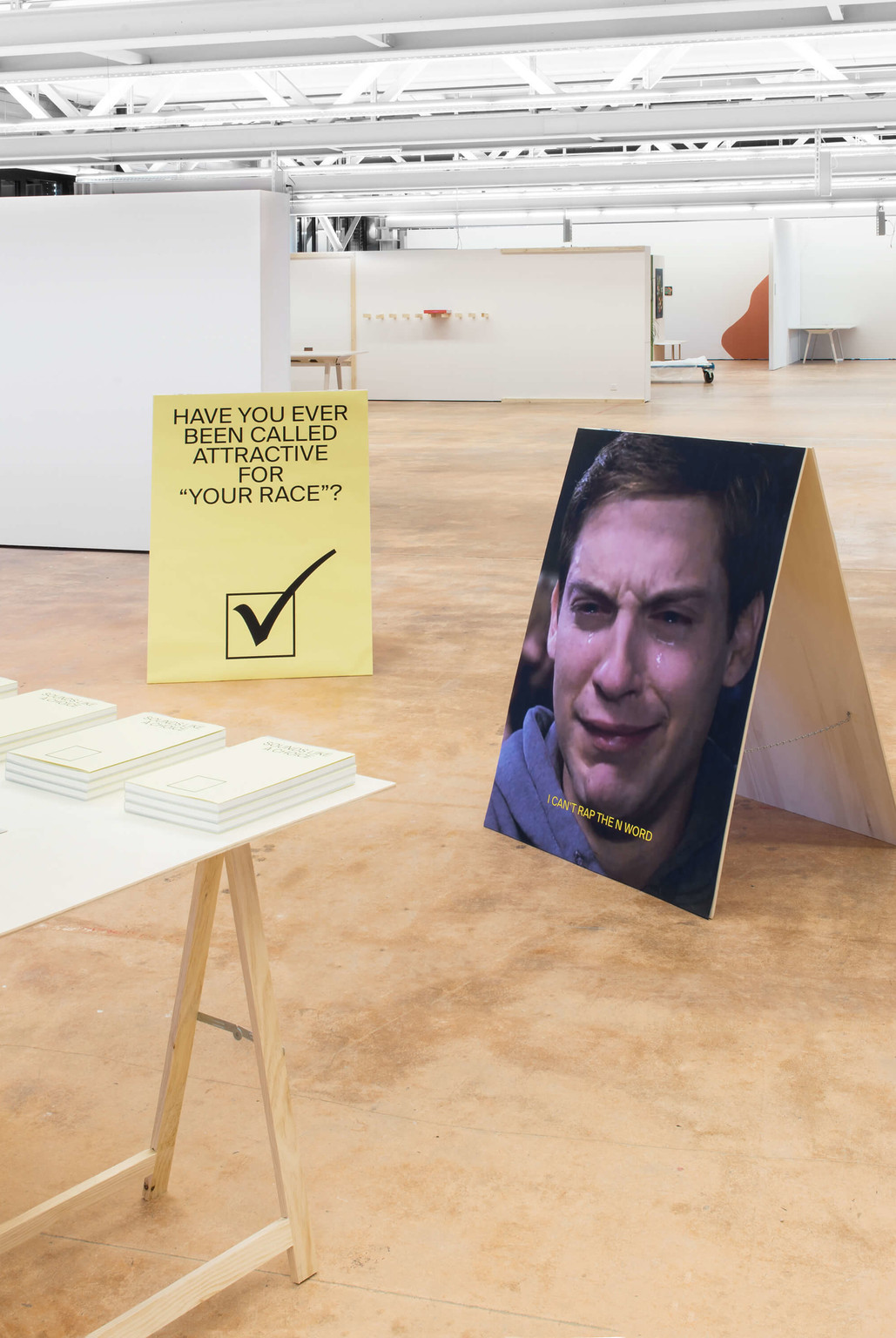 """Sounds Like a Choice"", exhibition view - © Photo: Vincent Levrat, Swiss Design Awards Blog"
