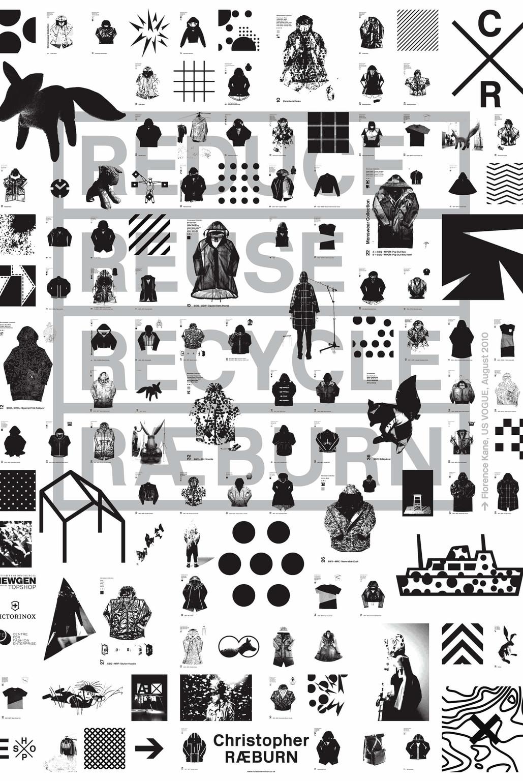 Christopher Raeburn Manifesto Poster - © © Régis Tosetti and Simon Palmieri, Swiss Design Awards Blog