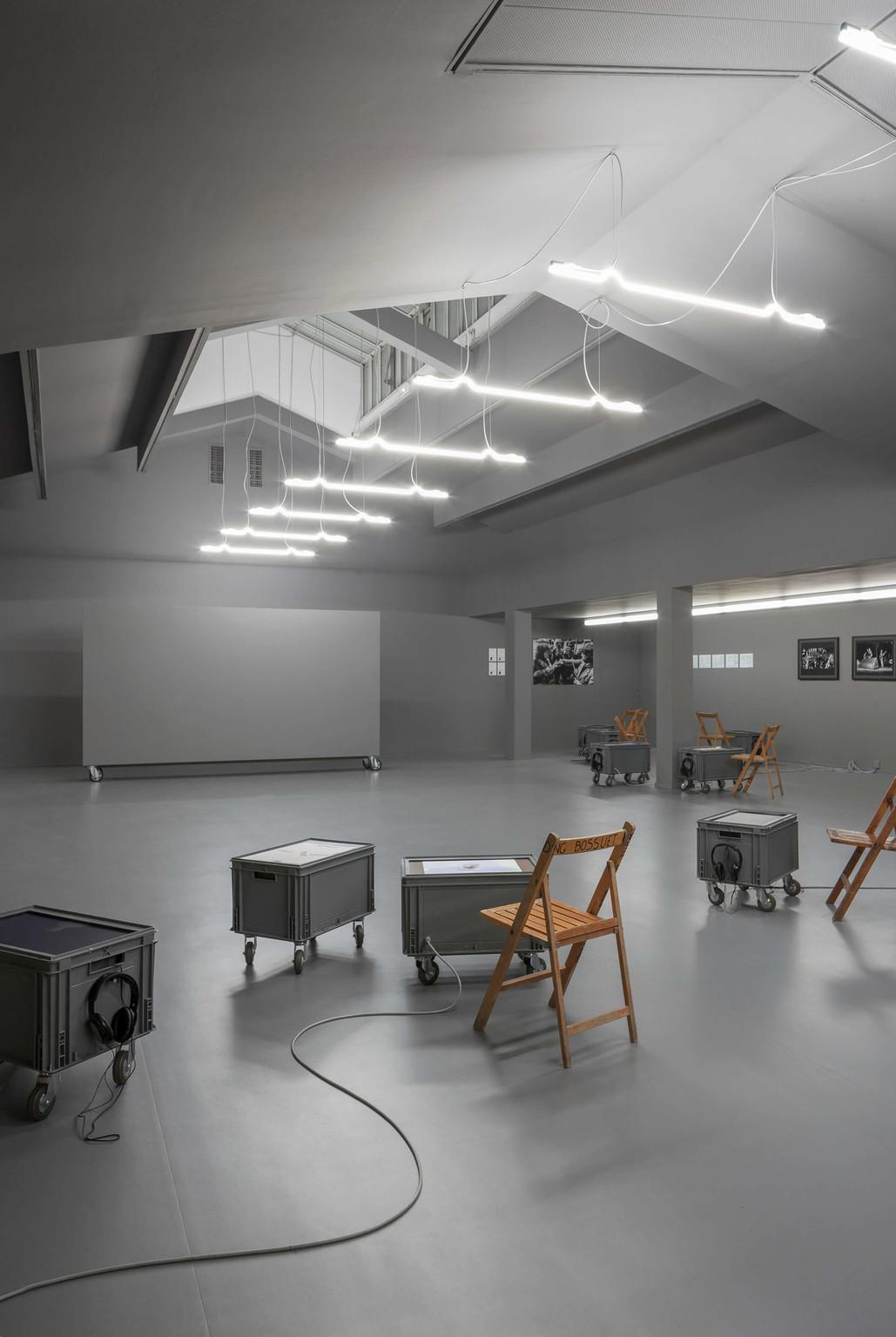 Scenography at the Centre Culturel Suisse de Paris - © Photograph: Dylan Perrenoud, Swiss Design Awards Blog